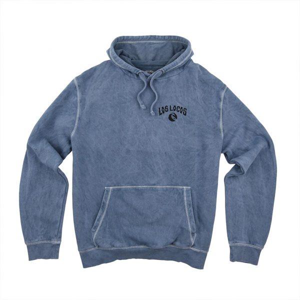 15- Sudadera Vintage azul delantera capucha1